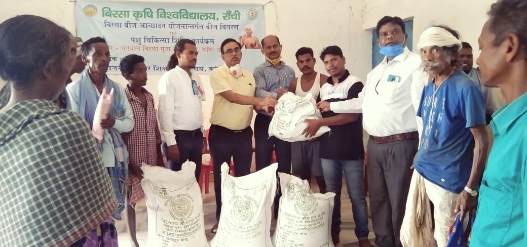 भगवान बिरसा के गांव उलीहातू में बांस की व्यावसायिक खेती को बढ़ावा देगा बीएयू